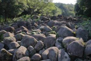 木部の大岩郷